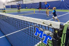 Mtsu City Of Murfreesboro Unveil Adams Indoor Tennis Complex