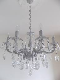 Best Crystal Chandelier 12 Best Collection Of Grey Crystal Chandelier