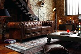 Old Fashioned Leather Sofa Full Grain Leather Sofa Set Buckingham Chesterfield Distinctive