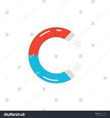 letter c logo like magnet icon stock vector 345911567 shutterstock