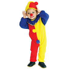 Halloween Costumes 3 Boy Aliexpress Buy Cute Baby Clowns Halloween Cosplay Soft Lint