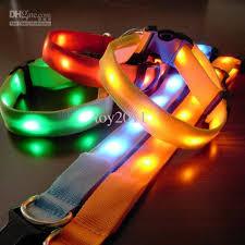 Light Up Dog Collar Best Glow Led Cat Dog Collars Pet Flashing Light Up Safety Collar