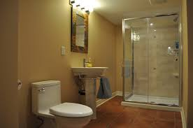 basement bathroom design layout with image of luxury basement