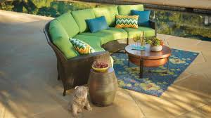 Curved Sectional Patio Furniture - dining room interesting curved sectional wicker sofa with