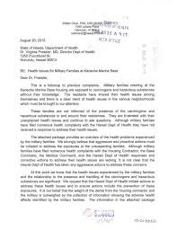 Resume For Military Letter From Dr Walter Chun To Doh