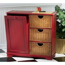 homey idea kitchen island with trash bin trends and storage