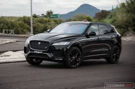 jaguar jeep 2016 jaguar f pace s 35t review video performancedrive