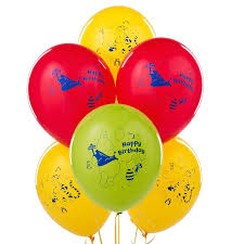 Disney Winnie The Pooh High Chair Amazon Com Winnie The Pooh Happy Birthday Latex Balloons 6