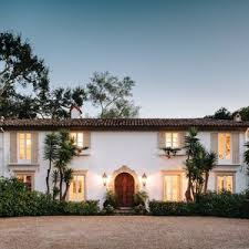 santa barbara style home plans five stunning spanish style homes santa fe beautiful interiors