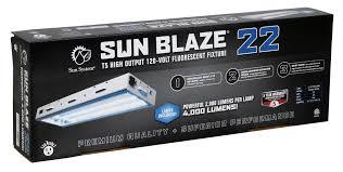 sun blaze 22 2 foot 2 lamp t5 fluorescent system