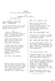 sample of essay about life adapting life of pi for the big screen took 170 script revisions pi first draft edited 1 jpg