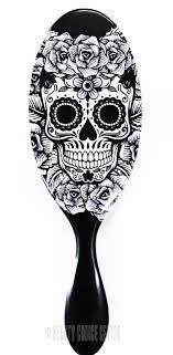 the brush sugar skull hair detangling shower brush select