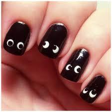 negler enkle halloween negler misscelina nail art