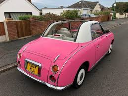 classic nissan rare classic nissan figaro convertible automatic 67 000 miles in