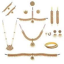 necklace set jewellery set set bharatanatyam jewellery with all