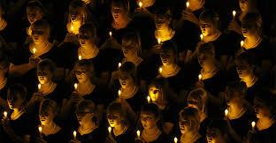 safe candles candlelight vigil church caroling services