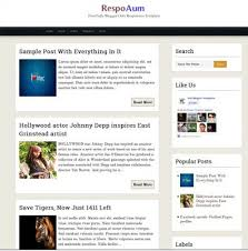 60 best blogger templates for blogspot blog 2017