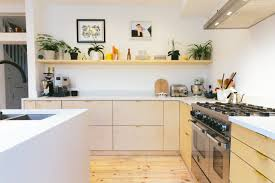 plykea in london stylish plywood cabinet fronts and worktops for