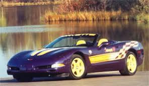 1998 corvette pace car for sale 1998 corvette indy pace car