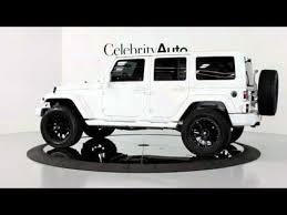 white 4 door jeep wrangler 2012 jeep wrangler 4wd auto white hardtop 20 2 5 lift