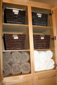 organizing bathroom closet perfect best images about bathroom on