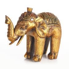 home decor elephants elephant statue table small exotic home indoor elephant statue