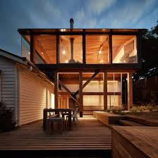 Beach Houses On Stilts by Glasshouse On Stilts By Austin Maynard Architects Extends