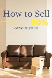 How To Sell  Of Your Stuff Our Streamlined Life Minimalism - Sell your sofa