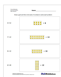 Math Worksheets Generator Picture Math Multiplication