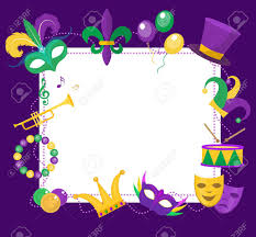 mardi gras picture frame mardi gras frame template with space for text mardi gras carnival