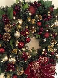 wreath lighted wreathcordless led light