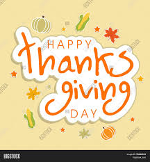 thanksgiving day celebrations beautiful greeting card design for happy thanksgiving day