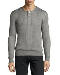 tom ford sweater tom ford lightweight silk ribbed henley sweater light