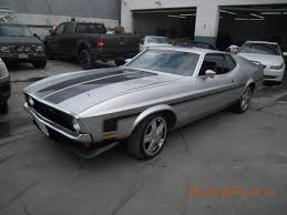 mustang auto shop coast and paint 1971 mustang mach 1 gray 37 nuys
