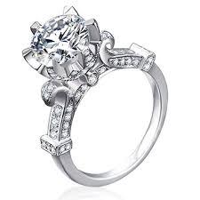 cinderella engagement ring cinderella pumpkin carriage fairy tale 3 carat created