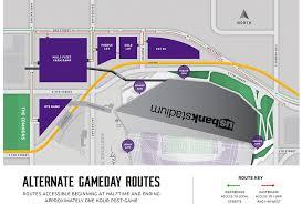 map us bank stadium minnesota vikings us bank stadium map seating chart us bank