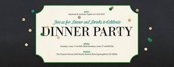 dinner party invitations birthday dinner party invitation wording cimvitation