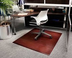 purely bamboo office chair mat 100 minimalist design on purely