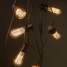 vintage light bulb strands edison 20 bulb party lighting 240v