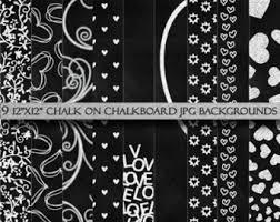 chalkboard wallpaper etsy