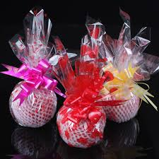 where to buy plastic wrap for gift baskets buy chong jubilee gift apple christmas wrapping paper flowers