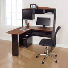 mainstays l shaped desk with hutch mainstays l shaped desk with hutch multiple finishes ameriwood