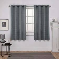 Grey And Silver Curtains Silver Curtains Drapes Window Treatments The Home Depot