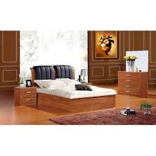solid mdf wooden ottoman storage bed cheap home furniture