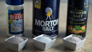 sea salt and table salt the difference between kosher salt sea salt table salt