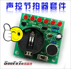 electronic components led lights voice activated led lights diy production suite melodic electronic