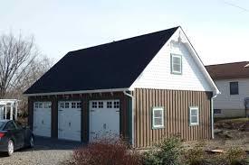 Garage Styles The Colonial Garage Hillside Structures