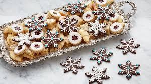 snowflake cookies chocolate snowflake cookies asian food channel