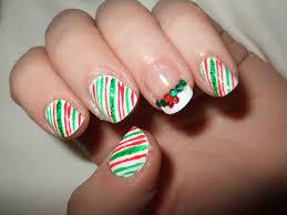 pretty christmas nails oooooh pretty christmas nails candy cane