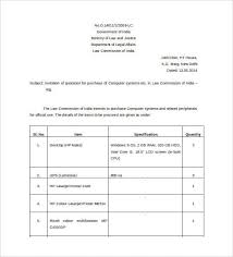 quotation example price quote template price quote template
